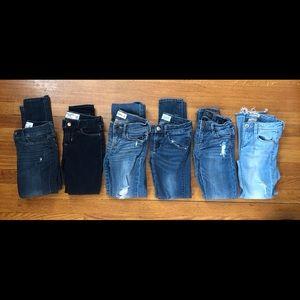 Kids Abercrombie Jeans, kids Hudson jeans